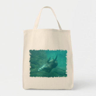 Sea Lions Organic Grocery Tote Bags