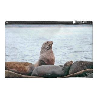 Sea Lions Photo Travel Accessory Bag