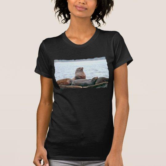 Sea Lions Photo T-Shirt