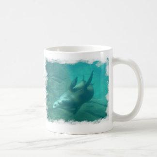 Sea Lions Scrape Edge Mug