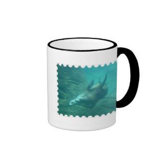 Sea Lions Stamp Edge Mug 2
