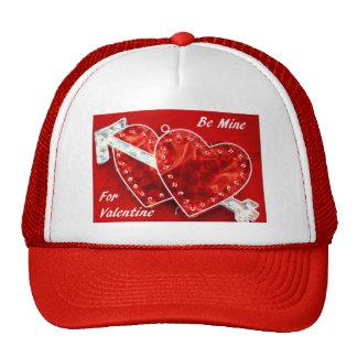 Sea los míos para la tarjeta del día de San Valent Gorra
