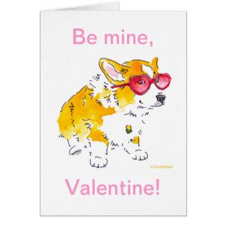 ¡Sea los míos, tarjeta del día de San Valentín! Ta