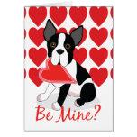 ¿Sea los míos? Tarjeta del el día de San Valentín