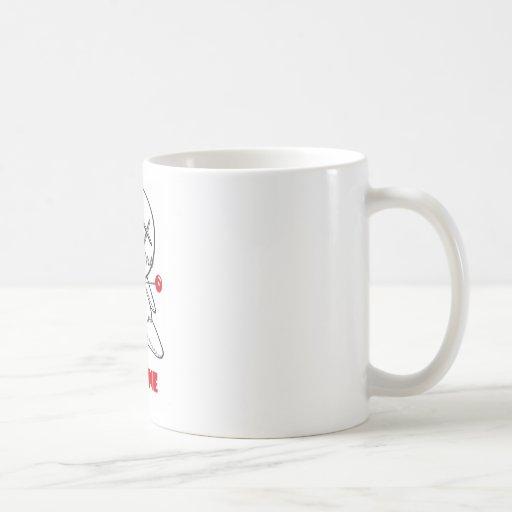 Sea los míos taza básica blanca