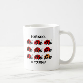Sea mariquita original taza de café