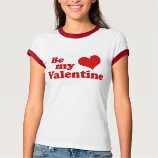 Sea mi amor de la tarjeta del día de San Valentín Remeras