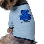 Sea mi azul del oso de la tarjeta del día de San V Camisetas De Perrito