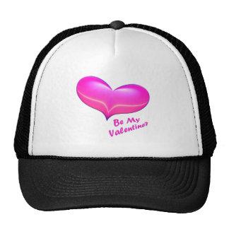 Sea mi corazón de la tarjeta del día de San Valent Gorro De Camionero