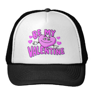 Sea mi corazón de la tarjeta del día de San Valent Gorras De Camionero