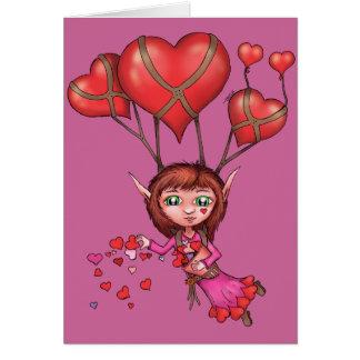 Sea mi duende de la tarjeta del día de San Valentí