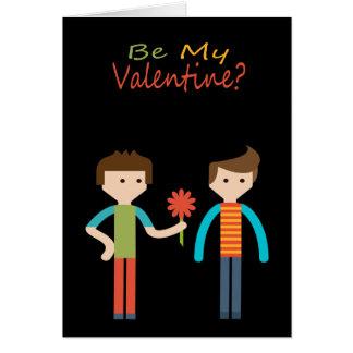 Sea mi gay de la tarjeta del día de San Valentín