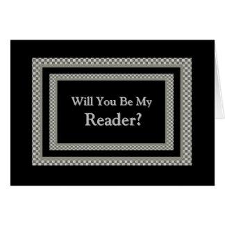 Sea mi invitación del boda del tablero de damas tarjeta de felicitación