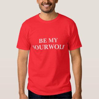 Sea mi Sourwolf (texto y el color adaptables) Polera