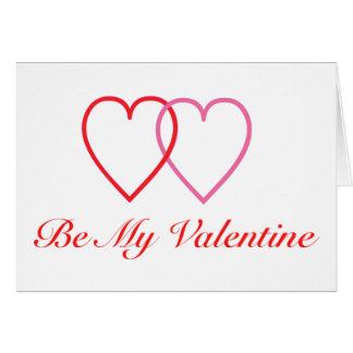 Sea mi tarjeta del día de San Valentín