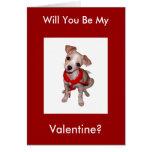 ¿Sea mi tarjeta del día de San Valentín?