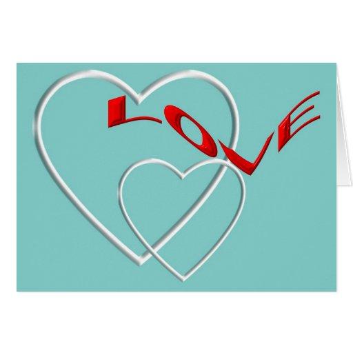 Sea mi tarjeta del día de San Valentín.
