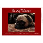 Sea mi tarjeta del día de San Valentín, barro amas