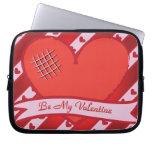 Sea mi tarjeta del día de San Valentín con el cora Fundas Portátiles