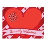 Sea mi tarjeta del día de San Valentín con el Postal