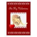Sea mi tarjeta del día de San Valentín crecen viej