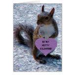 ¡Sea mi tarjeta del día de San Valentín de nuez!