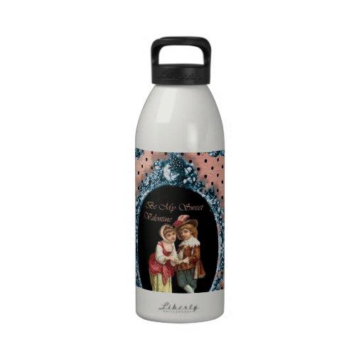Sea mi tarjeta del día de San Valentín dulce Botellas De Agua Reutilizables