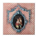 Sea mi tarjeta del día de San Valentín dulce Tejas Ceramicas