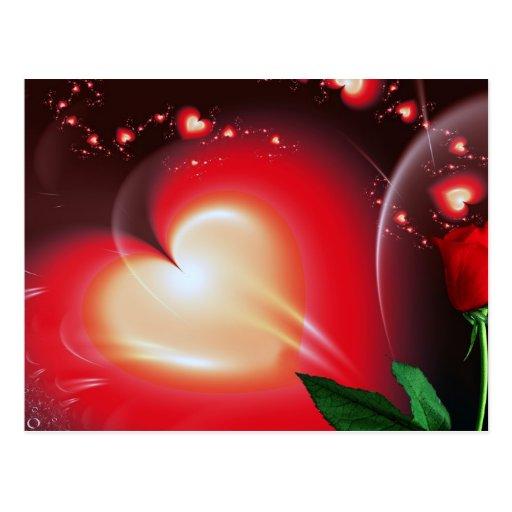 Sea mi tarjeta del día de San Valentín dulce Tarjeta Postal