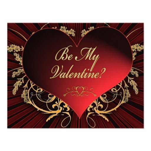 Sea mi tarjeta del día de San Valentín Comunicado Personal