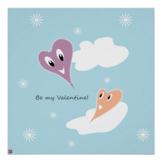 Sea mi tarjeta del día de San Valentín Impresiones
