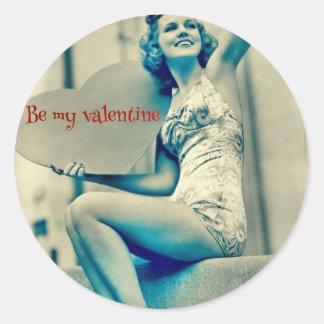 Sea mi tarjeta del día de San Valentín por amor