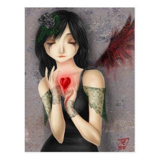 Sea mi tarjeta del día de San Valentín - postal