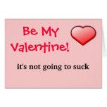 Sea mi tarjeta del día de San Valentín que no va a