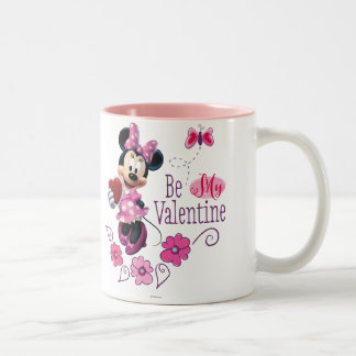 Sea mi tarjeta del día de San Valentín Taza De Dos Tonos