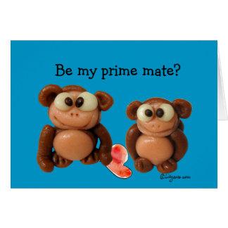 Sea mi tarjeta primera del el día de San Valentín
