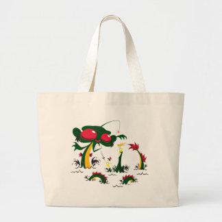 sea-monkey large tote bag