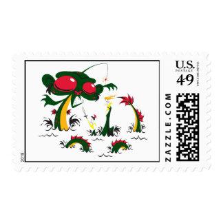 sea-monkey postage