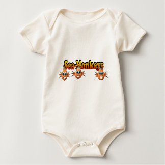 Sea Monkeys Monkees Design Baby Bodysuit