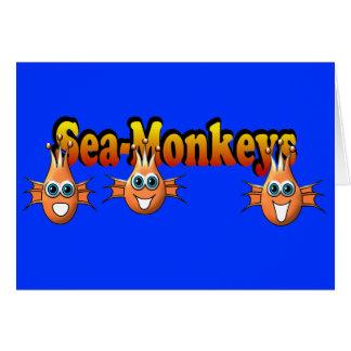 Sea Monkeys Monkees Design Card