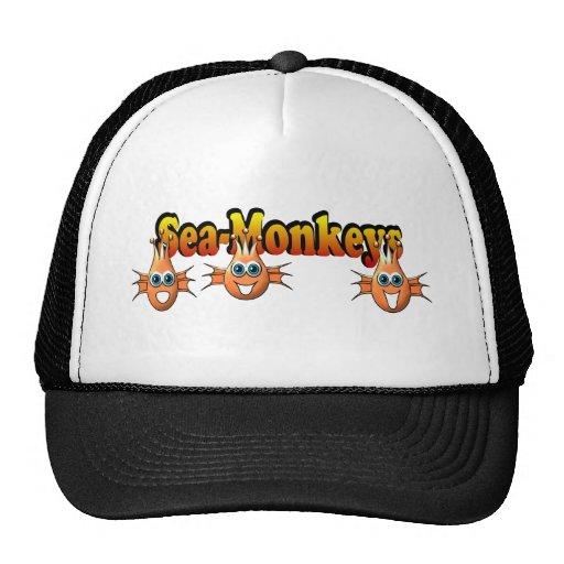 Sea Monkeys Monkees Design Trucker Hat
