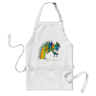 Sea Monster Adult Apron