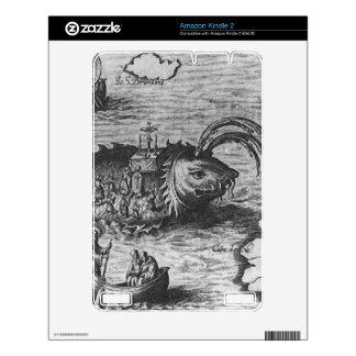 Sea Monster/Creature/Kraken Amazon Kindle 2 Skin