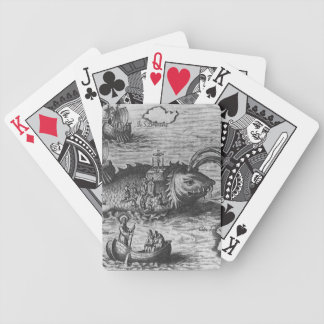 Sea Monster/Creature/Kraken Bicycle Playing Cards