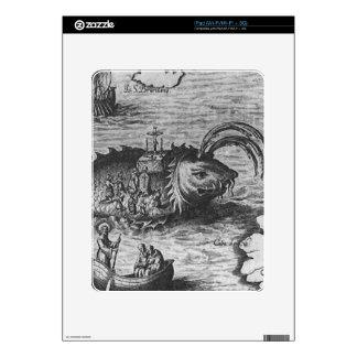 Sea Monster/Creature/Kraken iPad 1st Gen Skin Decals For The iPad