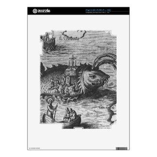 Sea Monster/Creature/Kraken iPad 2 Skin