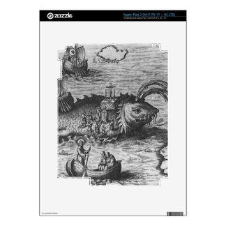 Sea Monster/Creature/Kraken iPad 3 Skin