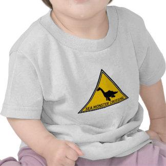 Sea Monster Crossing Logo Tshirts