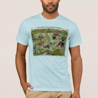 Sea Monster Map T-Shirt