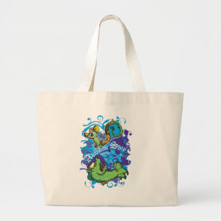 Sea Monsters Jumbo Tote Bag